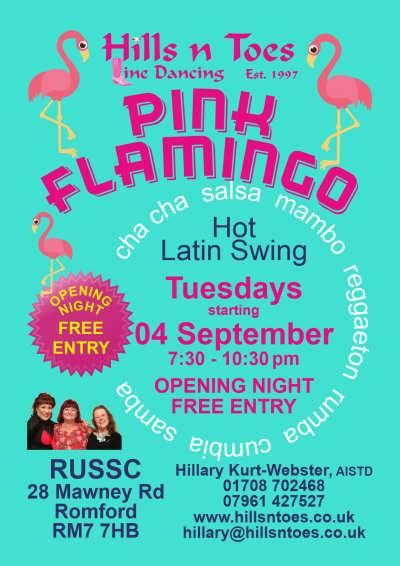 Pink Flamingo Opening